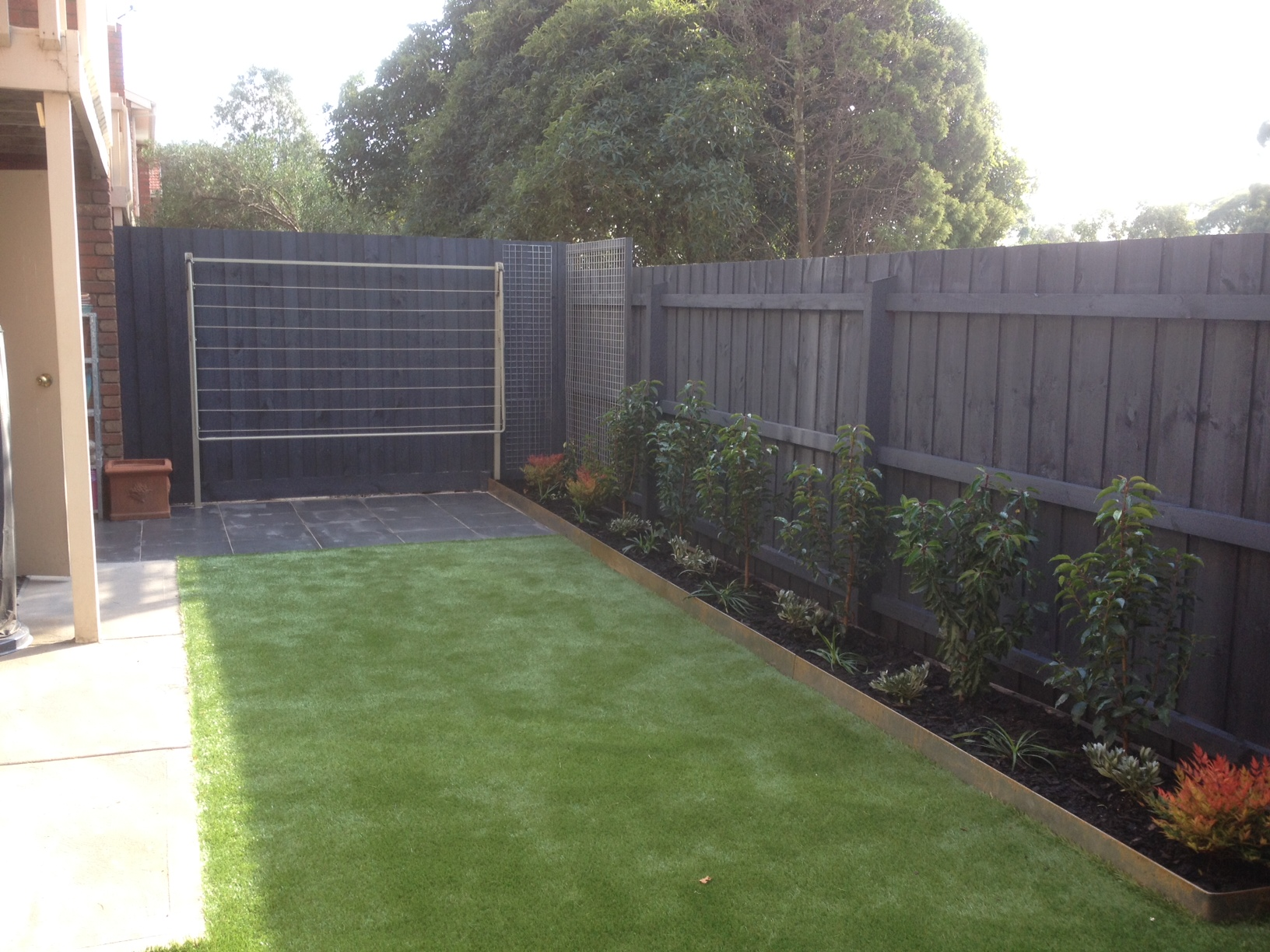Small Backyard Landscaping Greensborough Love Your Landscape