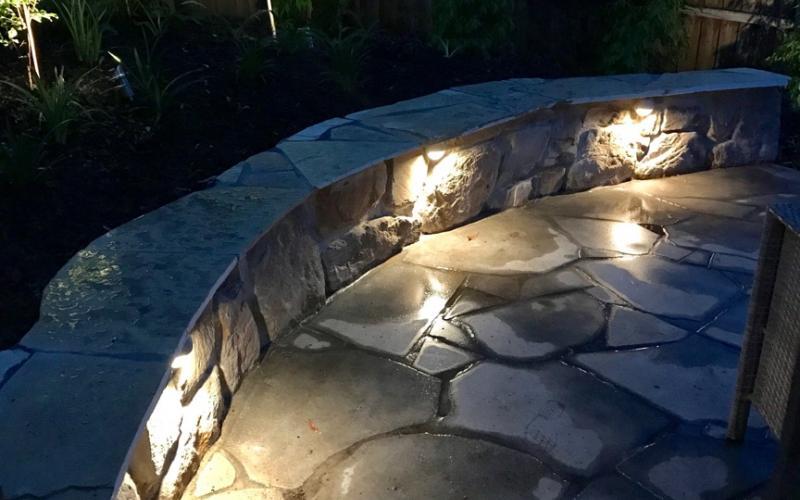 garden lighting small area