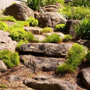 Large garden landscaping project - Warrandyte
